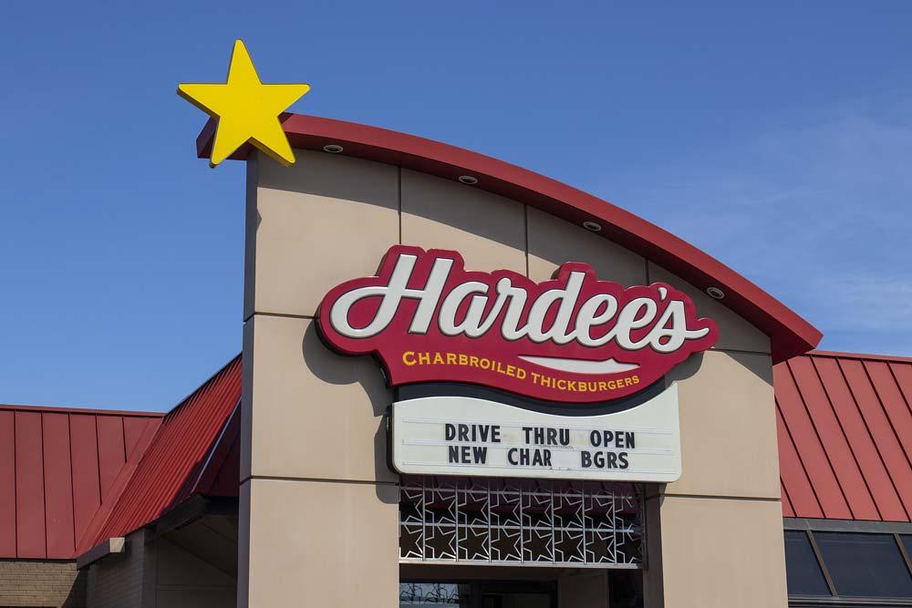 hardees locations near me